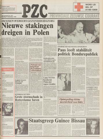 Provinciale Zeeuwse Courant 1980-11-17