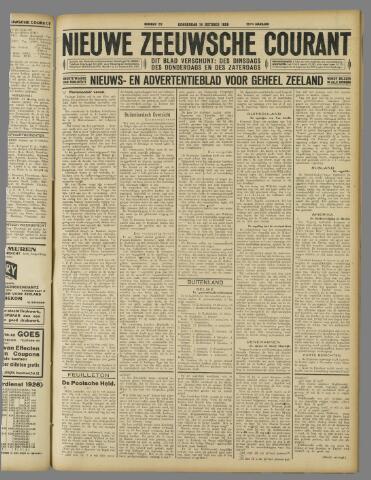 Nieuwe Zeeuwsche Courant 1926-10-14