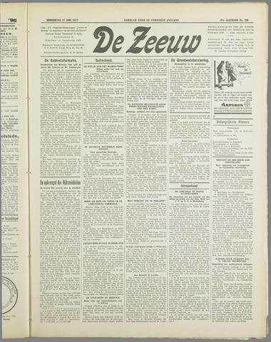 De Zeeuw. Christelijk-historisch nieuwsblad voor Zeeland 1937-06-17