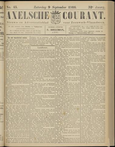 Axelsche Courant 1916-09-09