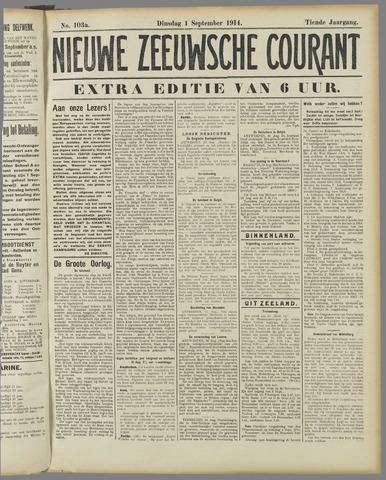 Nieuwe Zeeuwsche Courant 1914-09-01