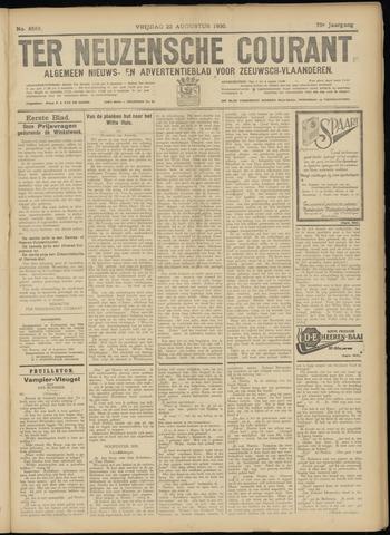 Ter Neuzensche Courant. Algemeen Nieuws- en Advertentieblad voor Zeeuwsch-Vlaanderen / Neuzensche Courant ... (idem) / (Algemeen) nieuws en advertentieblad voor Zeeuwsch-Vlaanderen 1930-08-22