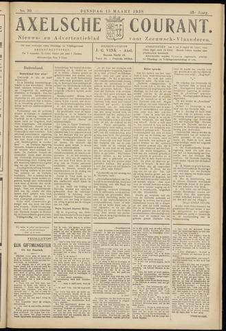 Axelsche Courant 1938-03-15