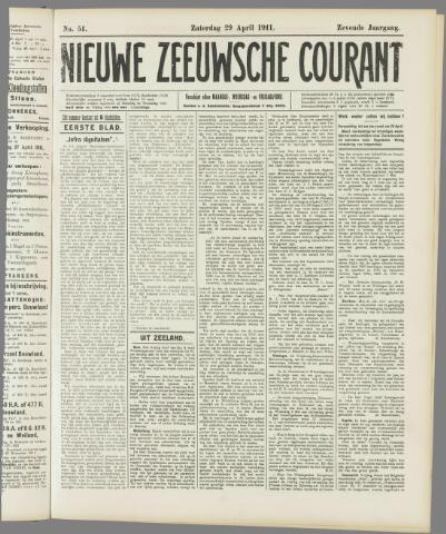 Nieuwe Zeeuwsche Courant 1911-04-29