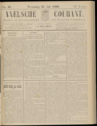 Axelsche Courant 1906-07-25