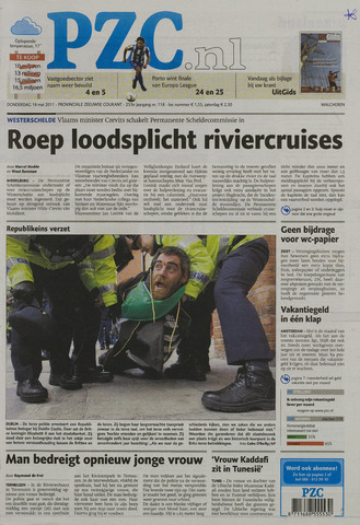 Provinciale Zeeuwse Courant 2011-05-19