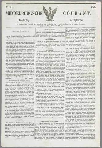 Middelburgsche Courant 1872-09-05