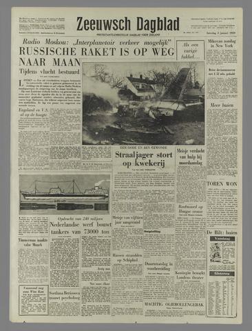 Zeeuwsch Dagblad 1959-01-03