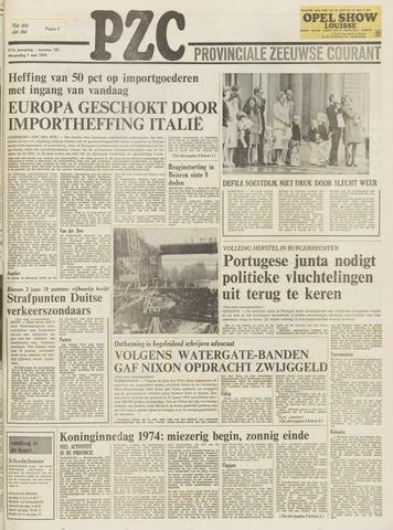 Provinciale Zeeuwse Courant 1974-05-01