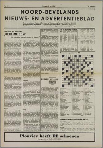 Noord-Bevelands Nieuws- en advertentieblad 1967-07-08
