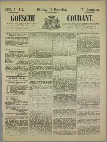 Goessche Courant 1887-12-13