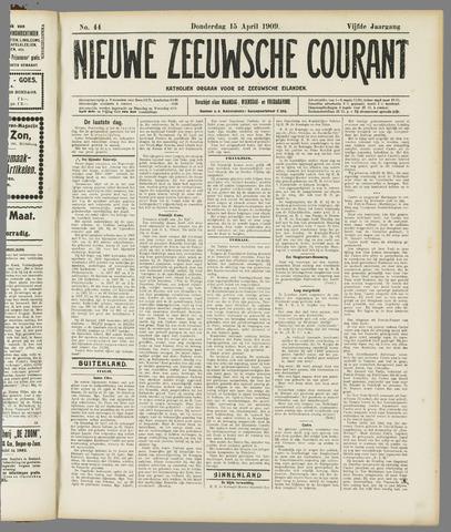Nieuwe Zeeuwsche Courant 1909-04-15