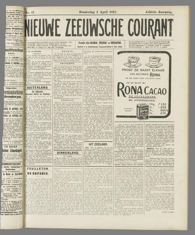 Nieuwe Zeeuwsche Courant 1912-04-04