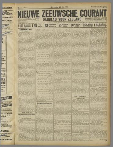 Nieuwe Zeeuwsche Courant 1921-07-28