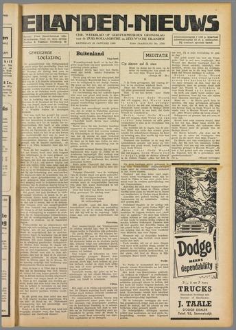 Eilanden-nieuws. Christelijk streekblad op gereformeerde grondslag 1949-01-29