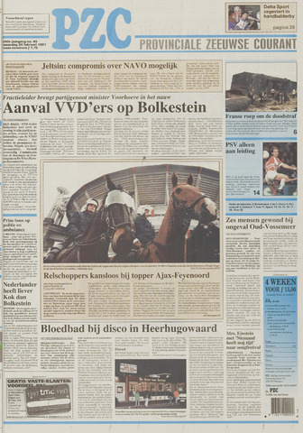 Provinciale Zeeuwse Courant 1997-02-24