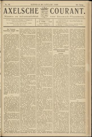 Axelsche Courant 1926-01-26