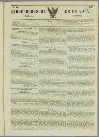 Middelburgsche Courant 1847-02-18