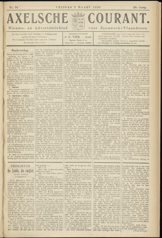 Axelsche Courant 1928-03-02