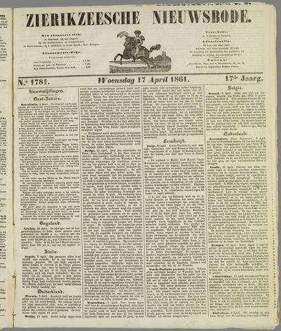 Zierikzeesche Nieuwsbode 1861-04-17