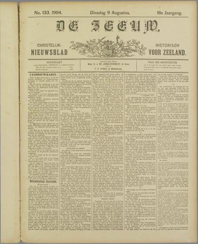 De Zeeuw. Christelijk-historisch nieuwsblad voor Zeeland 1904-08-09