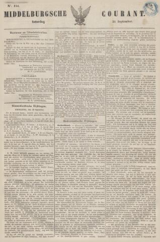 Middelburgsche Courant 1850-09-21