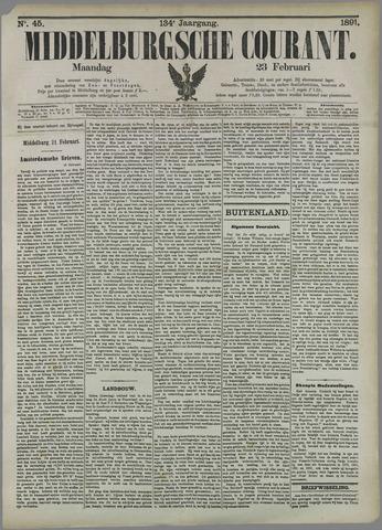 Middelburgsche Courant 1891-02-23