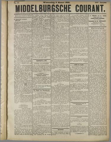 Middelburgsche Courant 1921-03-09