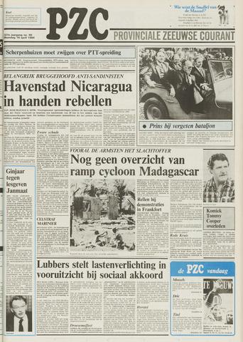 Provinciale Zeeuwse Courant 1984-04-16