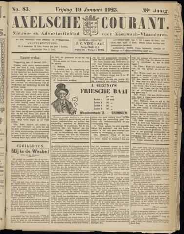Axelsche Courant 1923-01-19