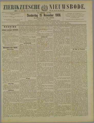 Zierikzeesche Nieuwsbode 1906-11-15