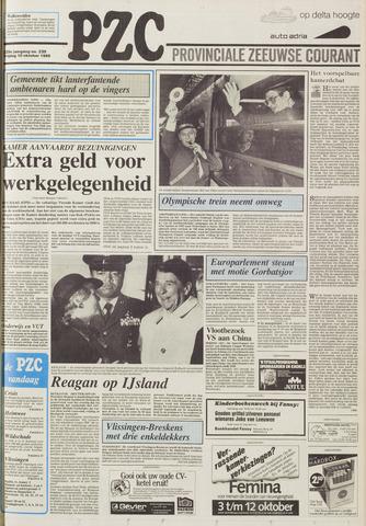 Provinciale Zeeuwse Courant 1986-10-10