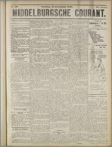 Middelburgsche Courant 1922-12-19