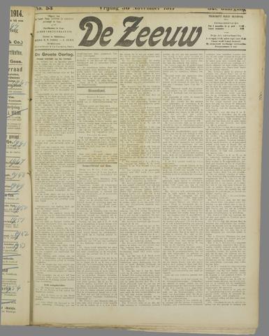 De Zeeuw. Christelijk-historisch nieuwsblad voor Zeeland 1917-11-30