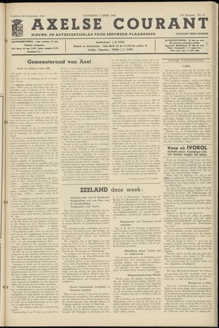 Axelsche Courant 1960-04-02