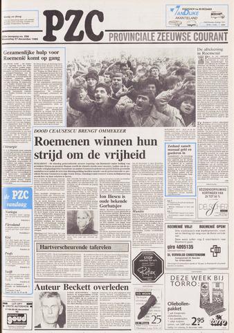 Provinciale Zeeuwse Courant 1989-12-27