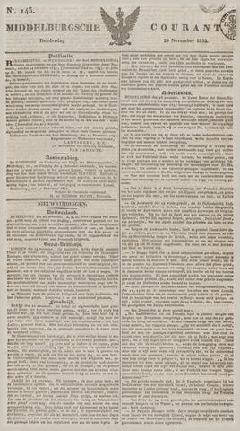 Middelburgsche Courant 1832-11-29