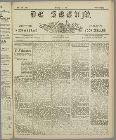 De Zeeuw. Christelijk-historisch nieuwsblad voor Zeeland 1897-07-27