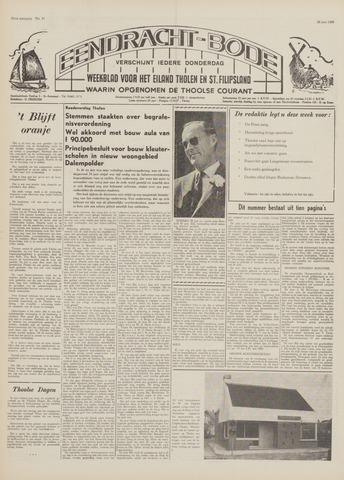 Eendrachtbode (1945-heden)/Mededeelingenblad voor het eiland Tholen (1944/45) 1969-06-26