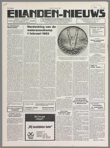 Eilanden-nieuws. Christelijk streekblad op gereformeerde grondslag 1978-01-27