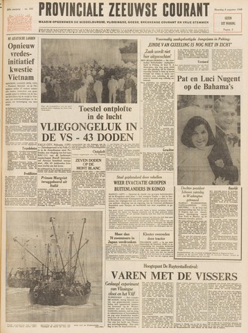 Provinciale Zeeuwse Courant 1966-08-08