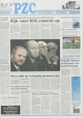 Provinciale Zeeuwse Courant 2000-10-27