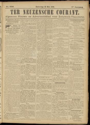 Ter Neuzensche Courant. Algemeen Nieuws- en Advertentieblad voor Zeeuwsch-Vlaanderen / Neuzensche Courant ... (idem) / (Algemeen) nieuws en advertentieblad voor Zeeuwsch-Vlaanderen 1918-05-18