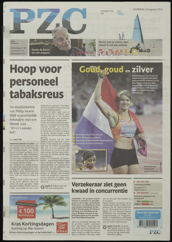 Provinciale Zeeuwse Courant 2014-08-16