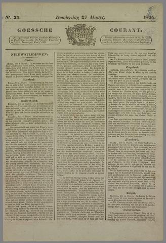 Goessche Courant 1845-03-27