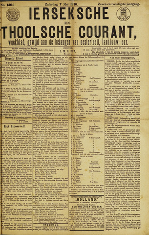 Ierseksche en Thoolsche Courant 1910-05-07