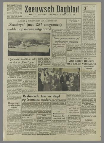 Zeeuwsch Dagblad 1958-04-02
