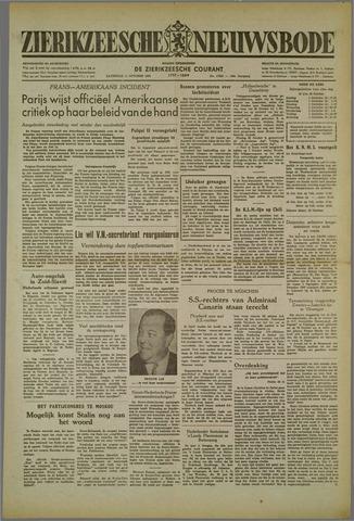 Zierikzeesche Nieuwsbode 1952-10-11