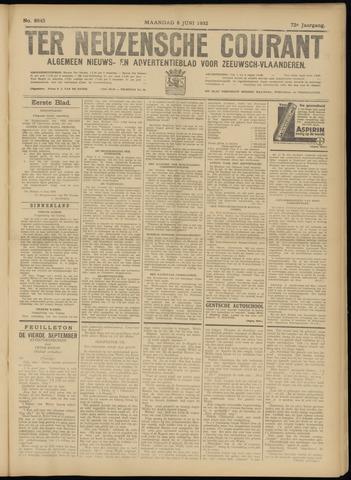 Ter Neuzensche Courant. Algemeen Nieuws- en Advertentieblad voor Zeeuwsch-Vlaanderen / Neuzensche Courant ... (idem) / (Algemeen) nieuws en advertentieblad voor Zeeuwsch-Vlaanderen 1932-06-06