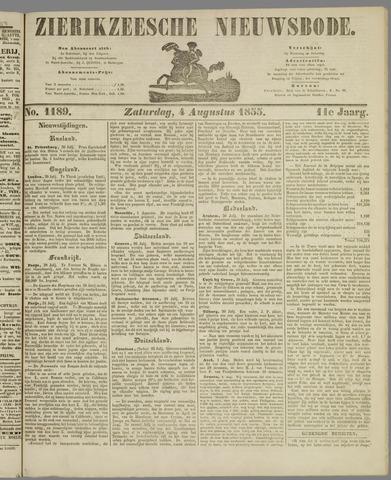 Zierikzeesche Nieuwsbode 1855-08-04